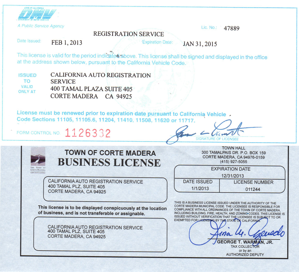 Dmv Motor Vehicle Registration